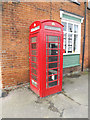 TL6001 : Telephone Box off The Green by Adrian Cable