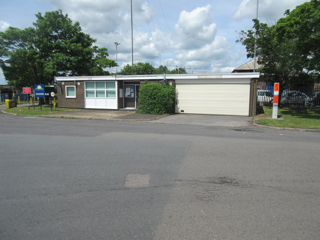 Police office, Newport Pagnell Services
