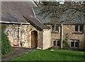 SX7962 : Corner of courtyard, Dartington Hall by Derek Harper