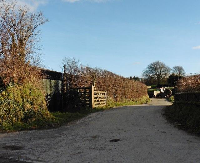 Entrance, Higher Hall Farm