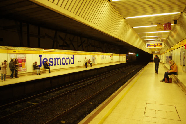 Jesmond Metro Station