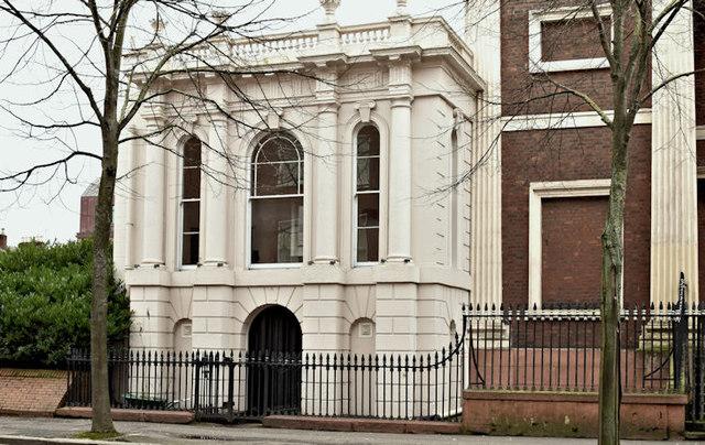 Former church school, May Street, Belfast (February 2016)