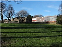 SE2434 : New and old schools, Bramley by Stephen Craven