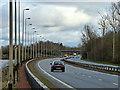 NS3474 : The A8 Greenock Road by Thomas Nugent