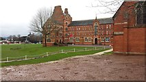 SX9392 : Exeter : Exeter School by Lewis Clarke