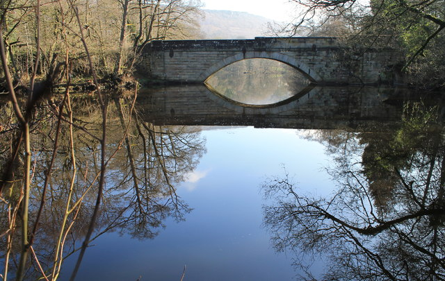The 'New Bridge' over the River Derwent