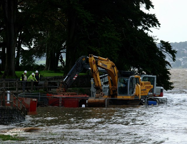 Slipway repair Arnside