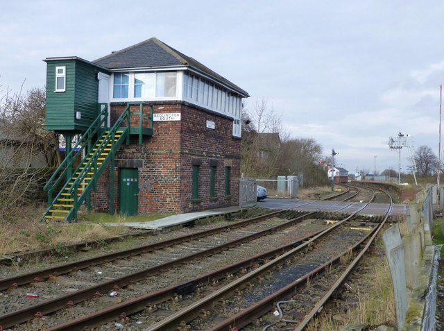 Bedlington South signal box