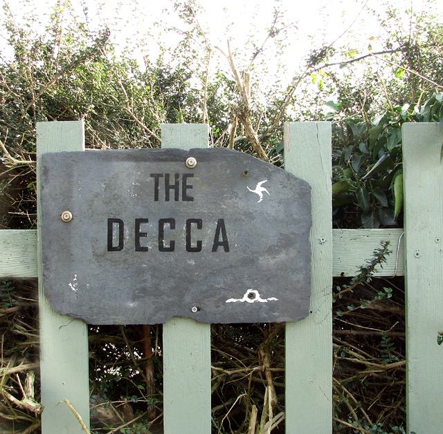 The Decca (sign)