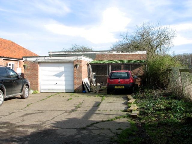 Vehicle garage and generator house