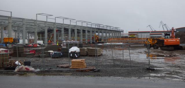 Retail development at Port Glasgow