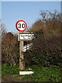 TM3862 : Saxmundham Town Name sign on the B1121 South Entrance by Adrian Cable