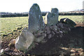NJ7613 : South Leylodge Recumbent Stone Circle (3) by Anne Burgess
