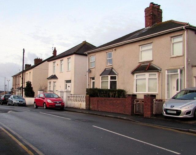 Pillmawr Road houses, Malpas, Newport
