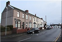 ST3090 : Numbers 1-7 Pillmawr Road, Malpas, Newport by Jaggery