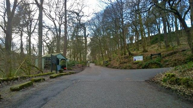 Hardcastle Crags walkway