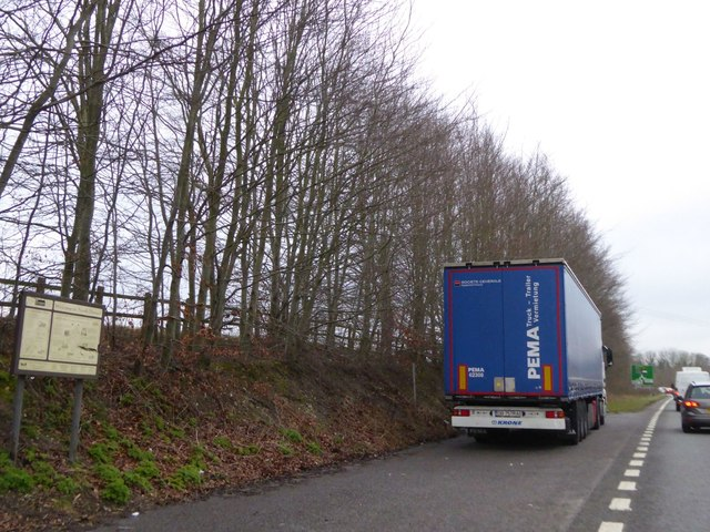 Lay-by on A354, Blandford Forum by-pass
