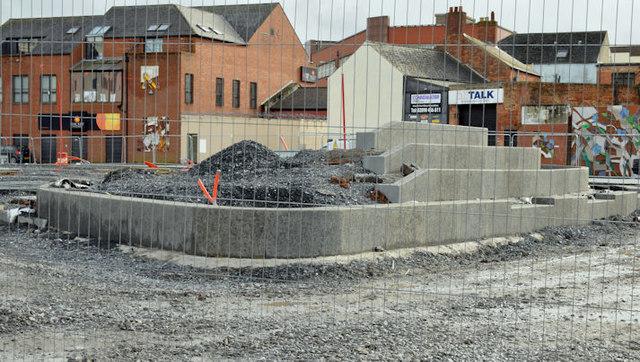 The CS Lewis Square, Belfast - February 2016(1)