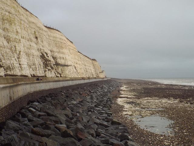 Along the shore near Brighton