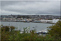 SX4953 : View across The Cattewater by N Chadwick