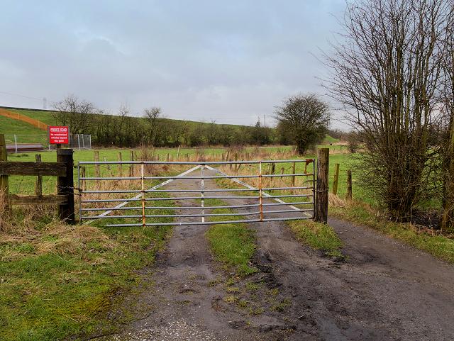 Gate on High Bank