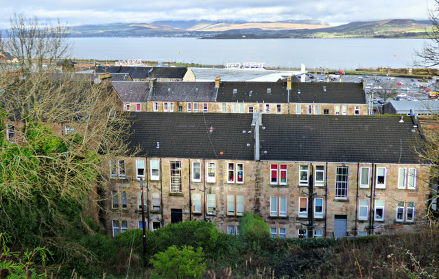 Glen Avenue and the Firth of Clyde