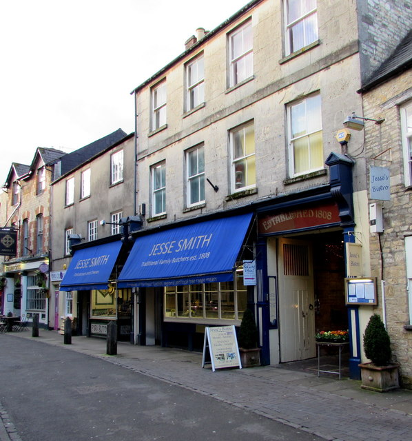 Jesse Smith traditional family butchers, Cirencester
