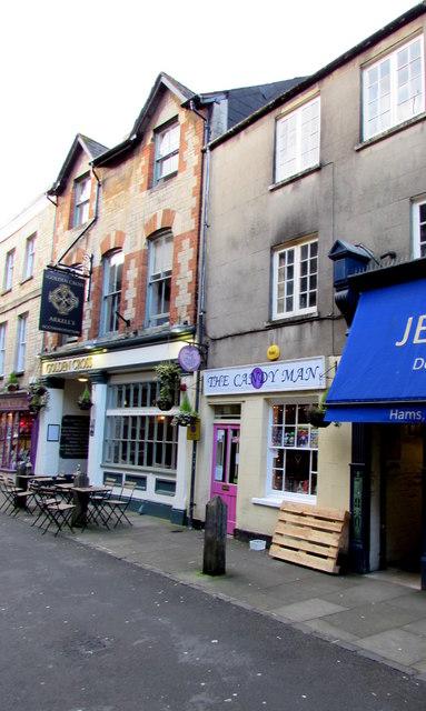 The Candy Man, Black Jack Street, Cirencester