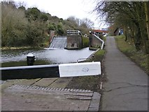 SO9186 : Lock No 4 View by Gordon Griffiths