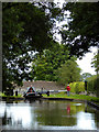 SJ6541 : Audlem Top Lock at Coxbank, Cheshire by Roger  Kidd
