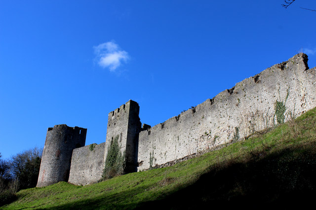 Corner Tower and Barbican, Chepstow Castle