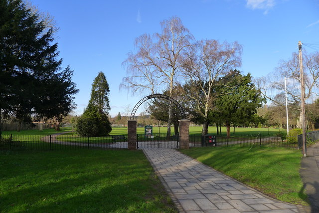 Entrance to Canford Park