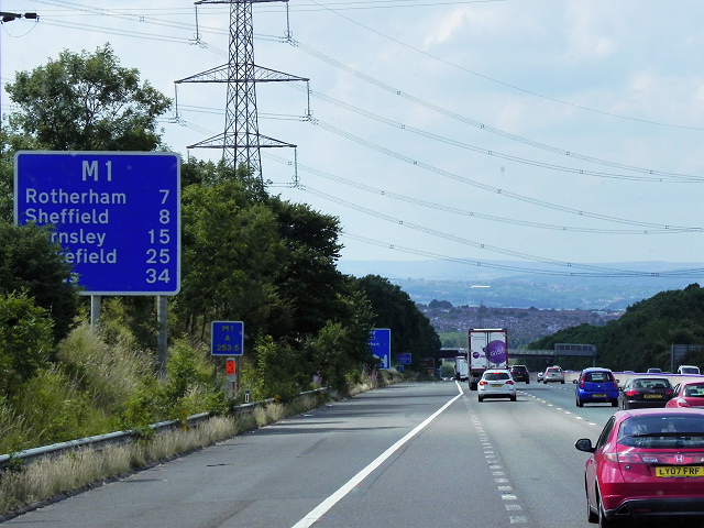 M1 near Whiston