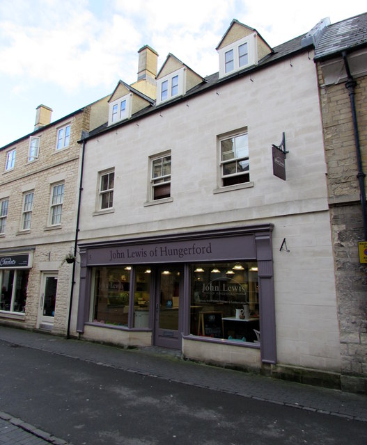 John Lewis of Hungerford in Cirencester