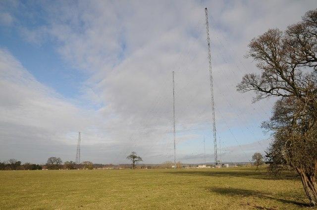 Wychbold Radio Transmitting Station