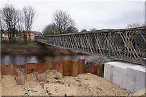 SE4843 : Sonny's Bridge over the River Wharfe, Tadcaster by Ian S