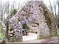SN0800 : St Florence - old ruined mill by welshbabe