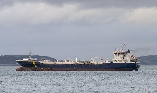 The 'Sarah Desgagnes' off Bangor