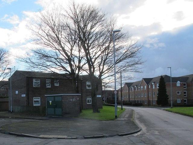 Substation, Rossefield Approach, Bramley
