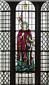 SK7755 : Stained glass window, St Wilfred's church, Kelham by J.Hannan-Briggs