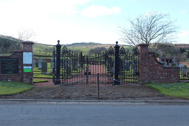 Straiton Cemetery Gates