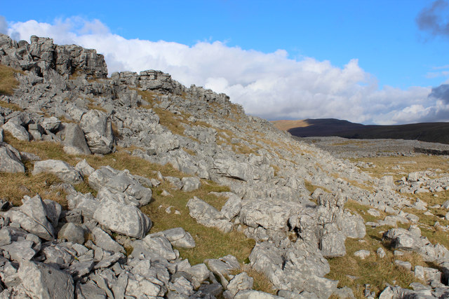 Limestone Scars above Kingsdale