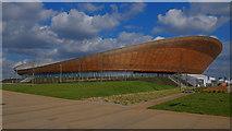 TQ3785 : Velodrome, Olympic Park by Julian Osley