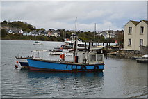 SX4952 : Boat, Hooe Lake by N Chadwick