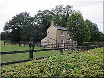 TL4259 : Merton Hall Farm House by Hugh Venables