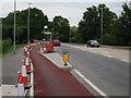 TL4360 : Floating bus stop, Huntingdon Road by Hugh Venables