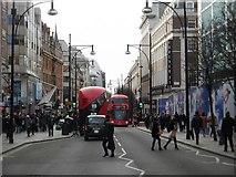 TQ2881 : Oxford Street, London by Stephen Sweeney