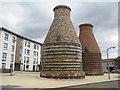 NT3074 : Pottery kilns on Bridge Street by M J Richardson