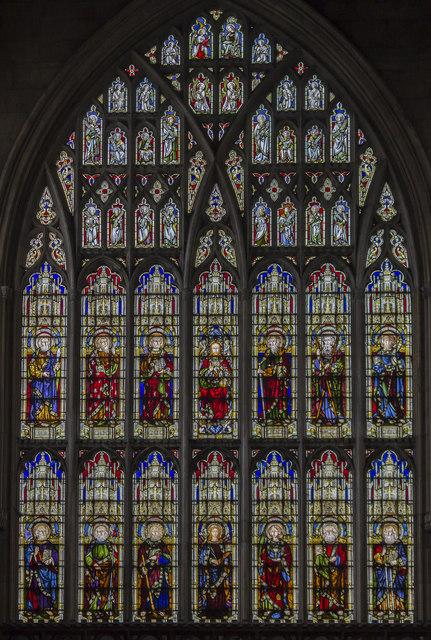 West window, St Mary's church, Beverley