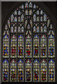 TA0339 : West window, St Mary's church, Beverley by J.Hannan-Briggs